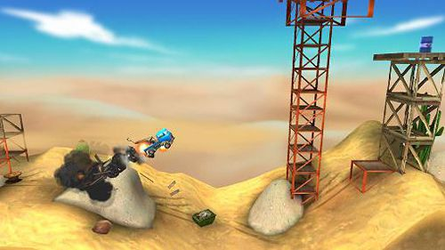 Free Bridge constructor: Stunts download for iPhone, iPad and iPod.