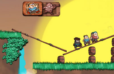 Screenshots vom Spiel Bridge The Gap für iPhone, iPad oder iPod.