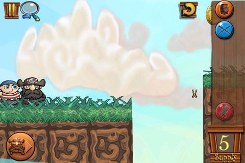 Screenshots of the Bridge the gap 2 game for iPhone, iPad or iPod.