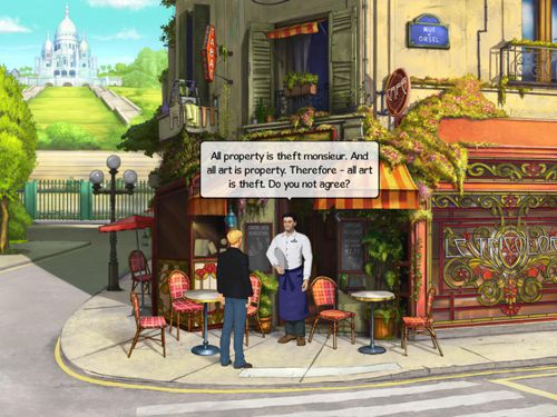 Kostenloser Download von Broken sword 5: The serpent's curse für iPhone, iPad und iPod.