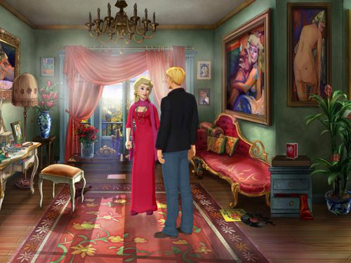 Screenshots of the Broken sword 5: The serpent's curse game for iPhone, iPad or iPod.
