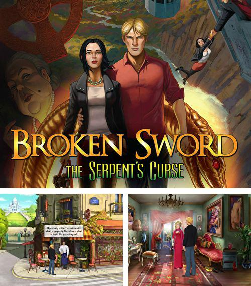 En plus du jeu Rayman: la Course dans les Jungles pour iPhone, iPad ou iPod, vous pouvez aussi télécharger gratuitement Epée cassée 5: Malédiction du serpent, Broken sword 5: The serpent's curse.