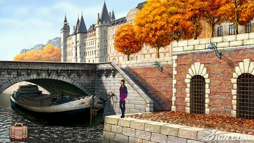 Écrans du jeu Broken sword: Shadow of the Templars. Director's cut pour iPhone, iPad ou iPod.