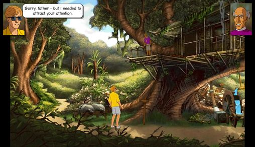 Kostenloser Download von Broken sword: The smoking mirror. Remastered für iPhone, iPad und iPod.