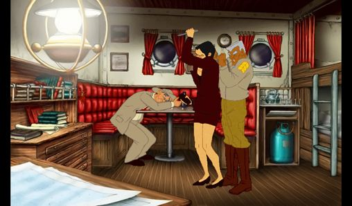 Screenshots vom Spiel Broken sword: The smoking mirror. Remastered für iPhone, iPad oder iPod.