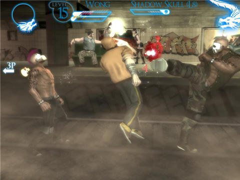 Écrans du jeu Brotherhood of Violence 2 : Blood Impact pour iPhone, iPad ou iPod.