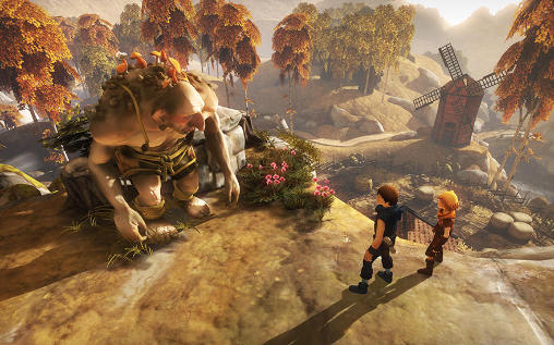 Screenshots vom Spiel Brothers: A Tale of Two Sons für iPhone, iPad oder iPod.