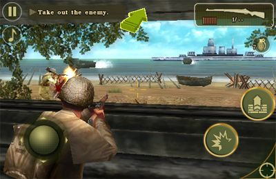 Download Brothers in Arms 2: Global Front iPhone free game.