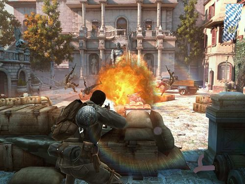 Screenshots vom Spiel Brothers in arms 3: Sons of war für iPhone, iPad oder iPod.