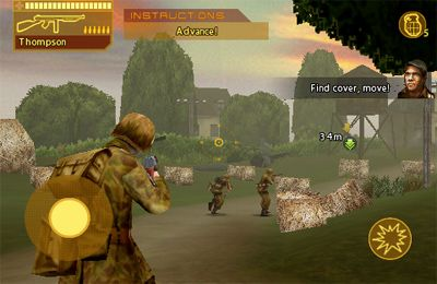Kostenloser Download von Brothers In Arms: Hour of Heroes für iPhone, iPad und iPod.