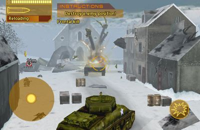 Screenshots do jogo Brothers In Arms: Hour of Heroes para iPhone, iPad ou iPod.