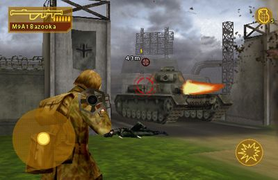 Screenshots vom Spiel Brothers In Arms: Hour of Heroes für iPhone, iPad oder iPod.