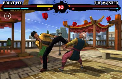 Kostenloser Download von Bruce Lee Dragon Warrior für iPhone, iPad und iPod.
