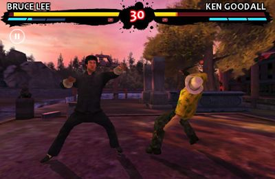 Capturas de pantalla del juego Bruce Lee Dragon Warrior para iPhone, iPad o iPod.