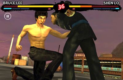 Screenshots vom Spiel Bruce Lee Dragon Warrior für iPhone, iPad oder iPod.