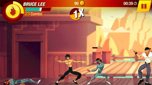 Download Bruce Lee: Enter the game iPhone free game.