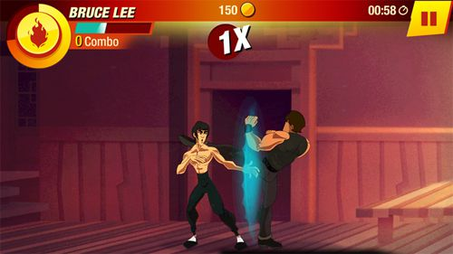 Kostenloser Download von Bruce Lee: Enter the game für iPhone, iPad und iPod.