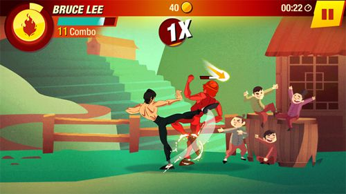 Screenshots vom Spiel Bruce Lee: Enter the game für iPhone, iPad oder iPod.