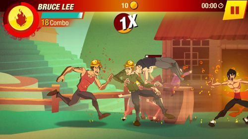 Screenshots of the Bruce Lee: Enter the game game for iPhone, iPad or iPod.