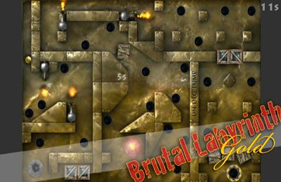 Écrans du jeu Brutal Labyrinth Gold pour iPhone, iPad ou iPod.