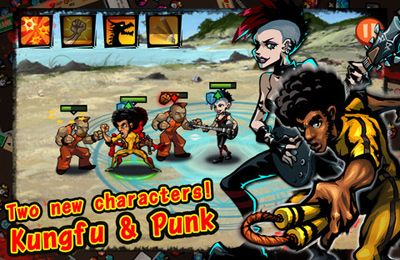 Screenshots of the Brutal Street game for iPhone, iPad or iPod.