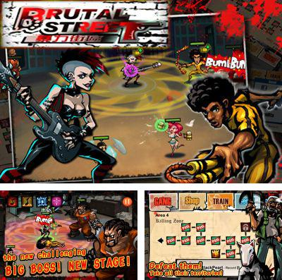 In addition to the game Hello Kitty: Kruisers for iPhone, iPad or iPod, you can also download Brutal Street for free.