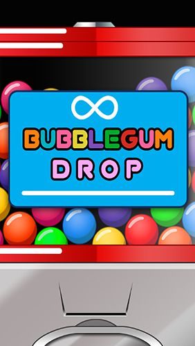 Bubble gum drop
