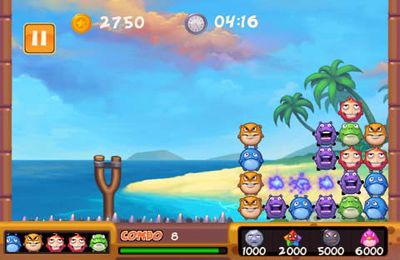 Capturas de pantalla del juego Bubble Park para iPhone, iPad o iPod.