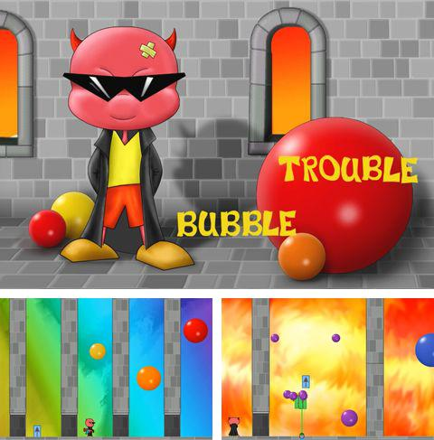 Kostenloses iPhone-Game Bubble Trouble See herunterladen.