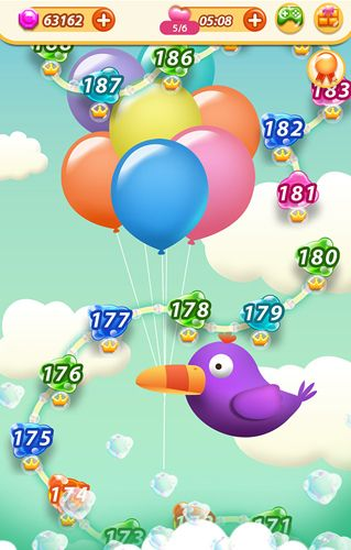 Download Bubbly pop iPhone free game.