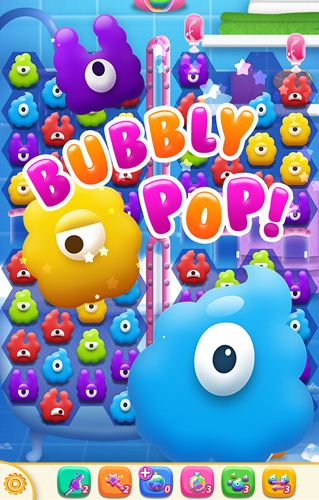 Screenshots of the Bubbly pop game for iPhone, iPad or iPod.