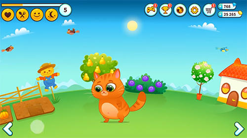 Capturas de pantalla del juego Bubbu: My virtual pet para iPhone, iPad o iPod.