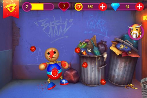 Screenshots of the Buddyman: Kick 2 game for iPhone, iPad or iPod.