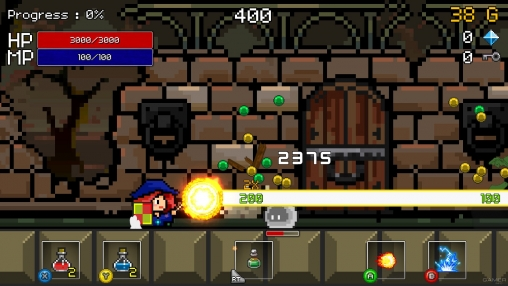 Screenshots vom Spiel Buff knight: Advanced für iPhone, iPad oder iPod.