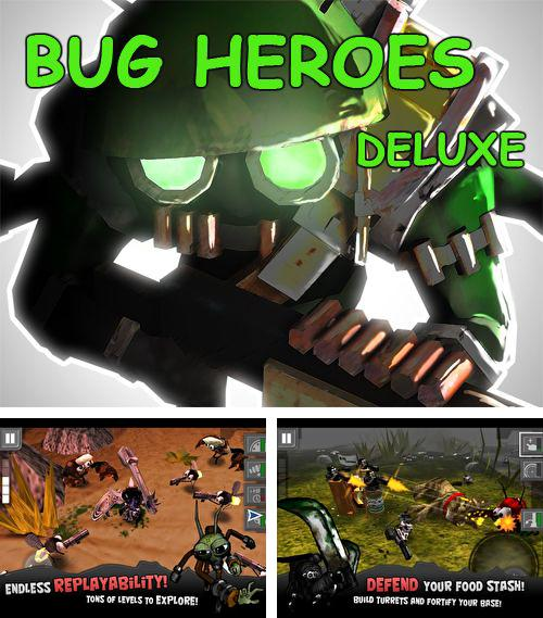 In addition to the game Blobster Christmas for iPhone, iPad or iPod, you can also download Bug heroes: Deluxe for free.