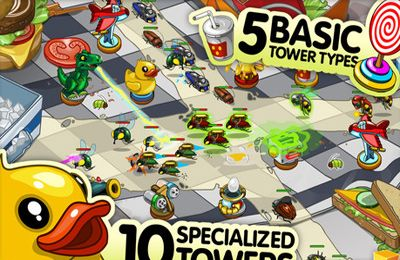 Download Bug Invasion iPhone free game.