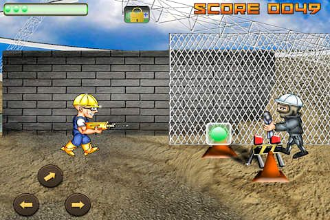Capturas de pantalla del juego Builders war para iPhone, iPad o iPod.