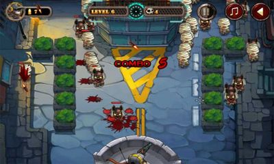 Screenshots of the Bullet Fly game for iPhone, iPad or iPod.