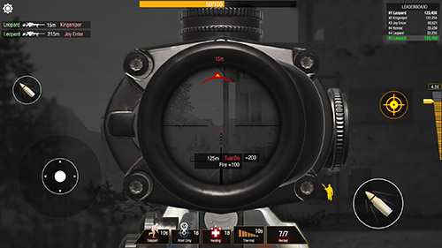 Screenshots of the Bullet strike: Sniper game for iPhone, iPad or iPod.