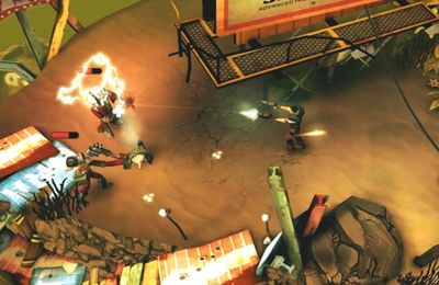 Capturas de pantalla del juego Bullet Time HD para iPhone, iPad o iPod.