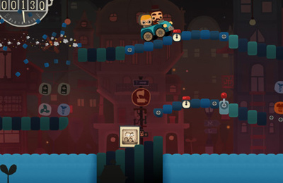 Screenshots of the Bumpy Road game for iPhone, iPad or iPod.