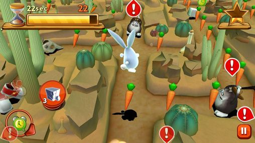 Download Bunny maze 3D iPhone free game.