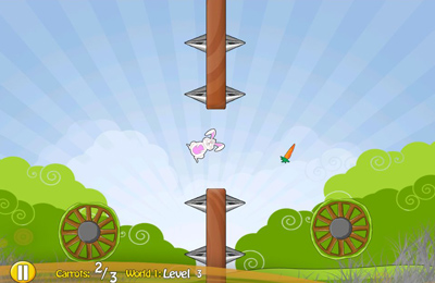 Download Bunny Spin iPhone free game.