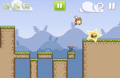 Écrans du jeu Burger Cat pour iPhone, iPad ou iPod.