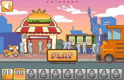 Kostenloses iPhone-Game Burger Queen World herunterladen.