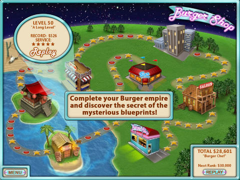 Free Burger shop download for iPhone, iPad and iPod.