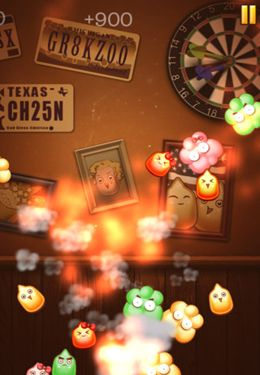 Screenshots of the Burn the corn game for iPhone, iPad or iPod.