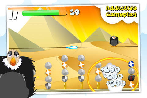 Screenshots of the Burning Birds game for iPhone, iPad or iPod.