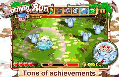 Download Burning Run iPhone free game.