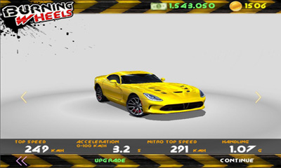 Kostenloser Download von Burning Wheels 3D Racing für iPhone, iPad und iPod.
